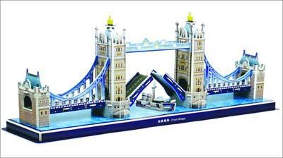《伦敦塔桥》(爱拼益智产品教育研发组)【简介|评价
