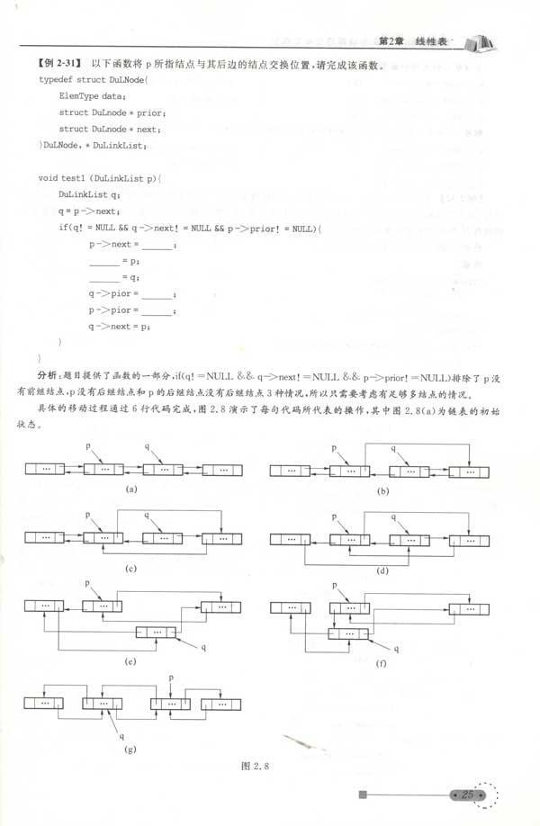 数据结构(c  )版答疑解惑与典型题解 单忆南唐军军孙涵编 计算机与