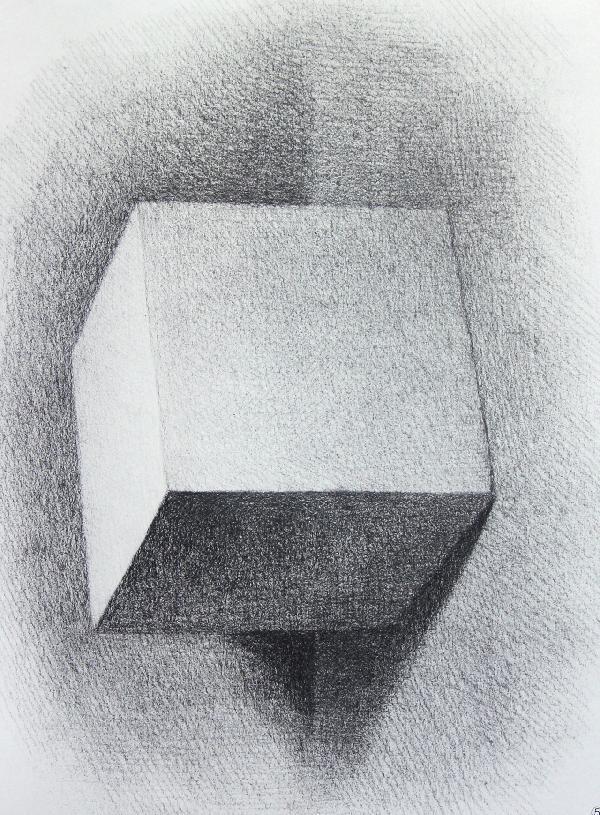 素描石膏几何体/初学者之友