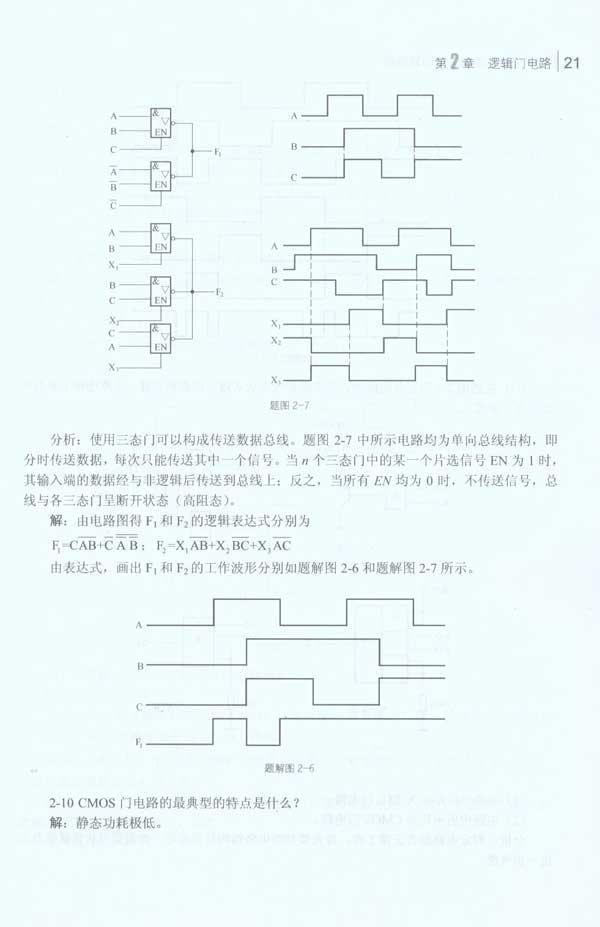 数字电路与逻辑设计习题指导-邹虹-大学-文轩网
