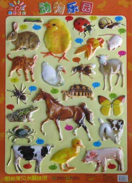 动物乐园-阳光宝贝水晶挂图