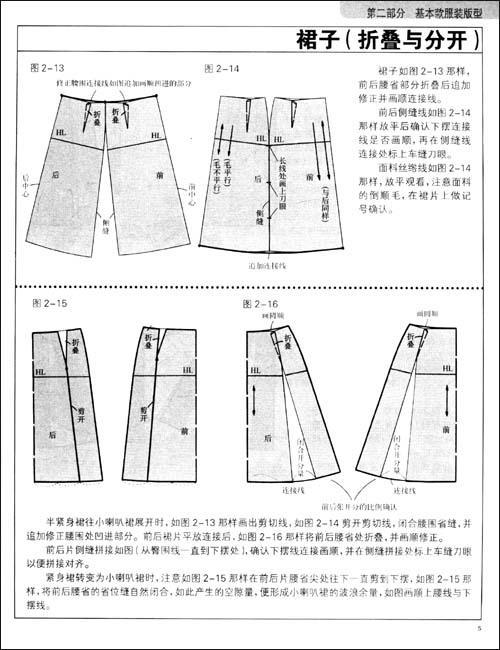 两片袖的结构设计(合体型)