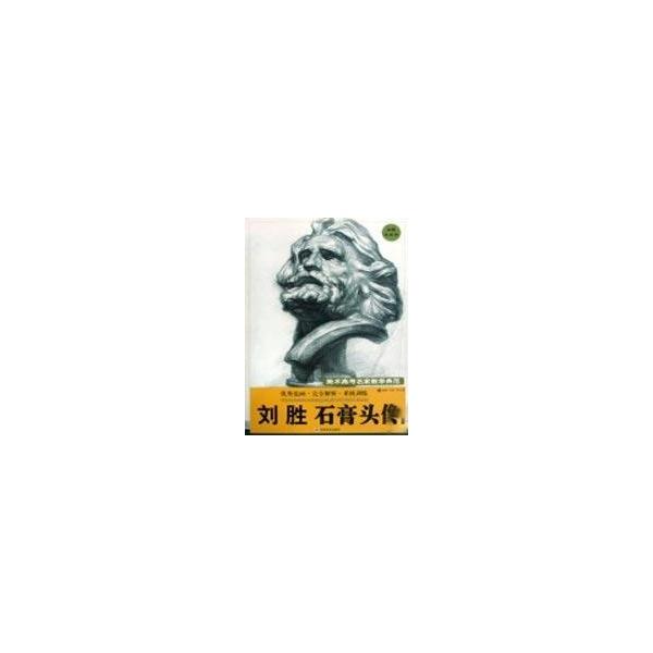 刘胜石膏头像/美术高考名家教学典范-刘胜