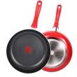 蘇泊爾  火紅點炫彩系列煎鍋紅色 PJ28G1  平底鍋不粘鍋煎鍋 火紅點無油煙煎餅煎牛排鍋 28cm