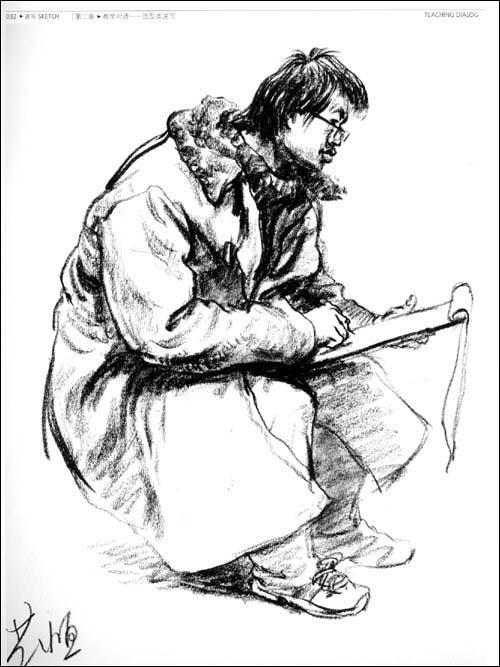 彩铅画初学者临摹图步骤图