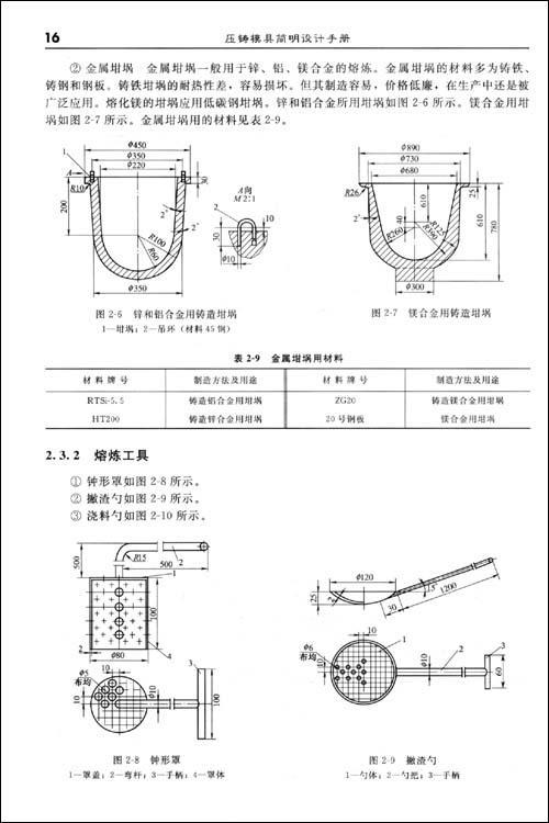 《压铸模具简明设计手册》(黄勇)【简介|评价|摘要图片
