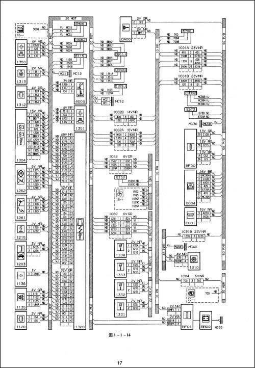 图纸电气电路图+第五章起亚东风狮跑cad怎么的系统出画大改图片