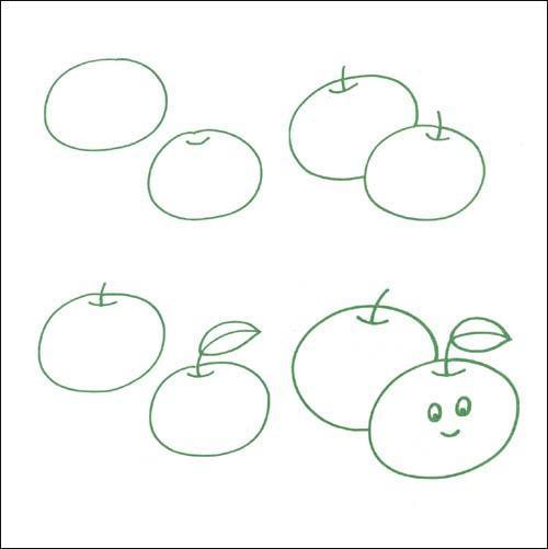 8    目录  水果蔬菜  苹果  橘子  樱桃  西瓜  香蕉图片