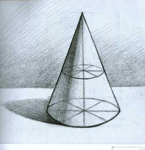 立方体素描画法图解