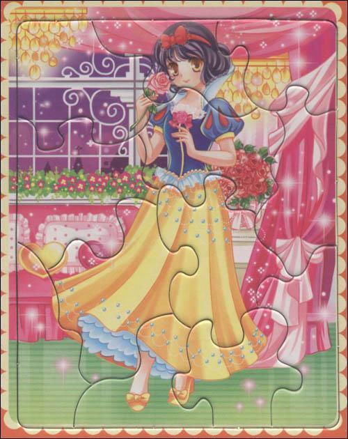 少女卧室手绘插画