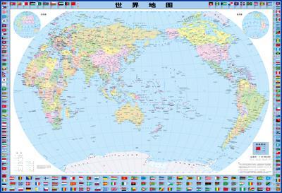 世界地理地图(初中专用版)
