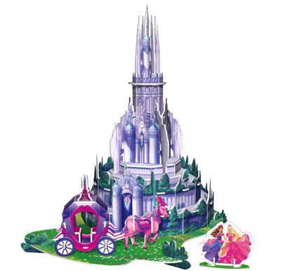立体城堡步骤图