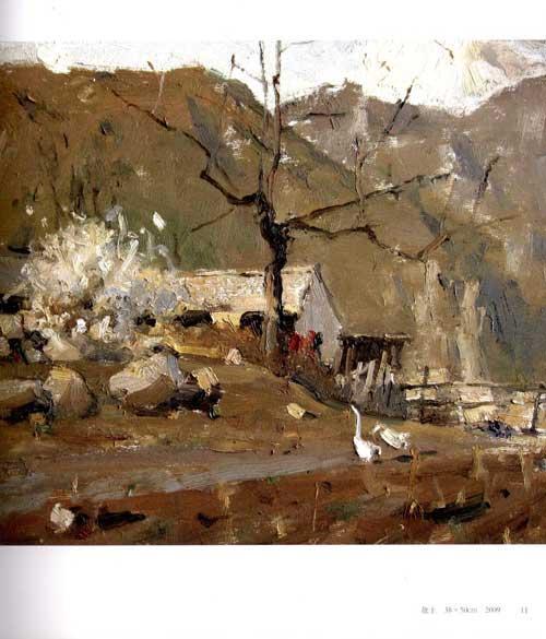 山水画   内容简介 《谷钢油画写生》为谷钢油画写生集,供广大风景