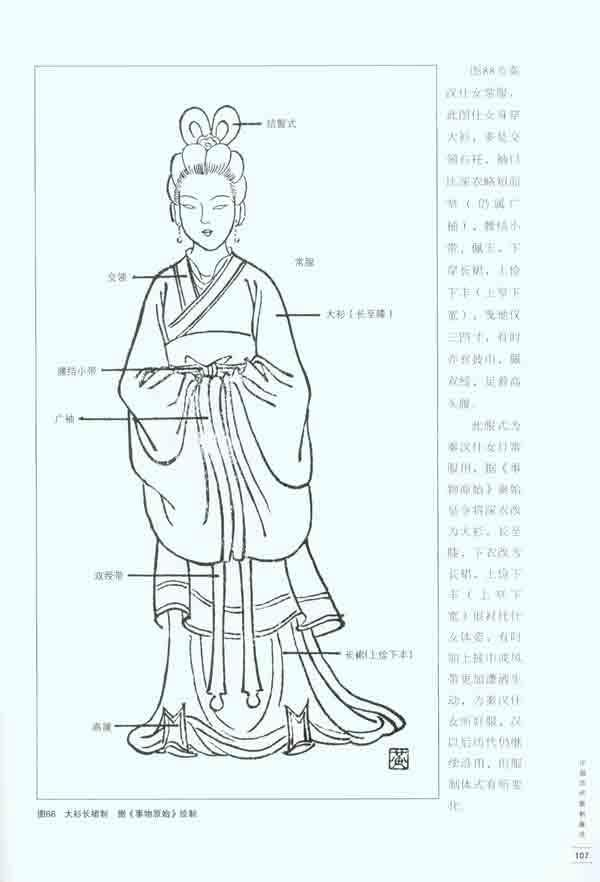 可称是一本简明*国古代服装史的形象图例