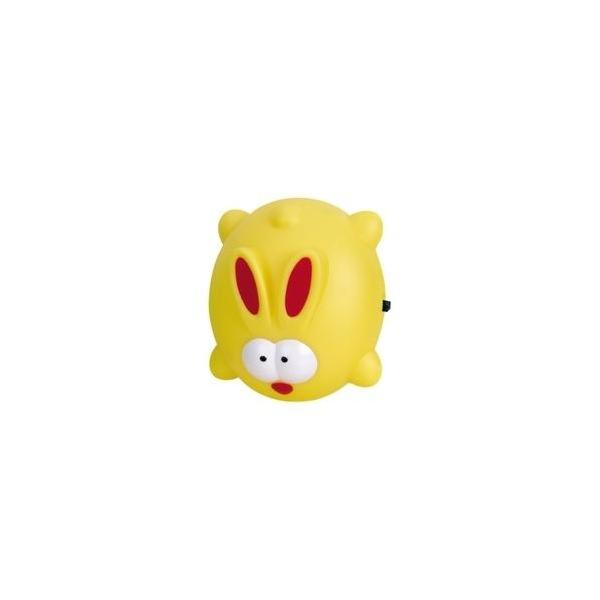 冠雅gy-8008 黄色 led创意兔可爱卡通儿童型小夜灯 省电耐用 abs耐热