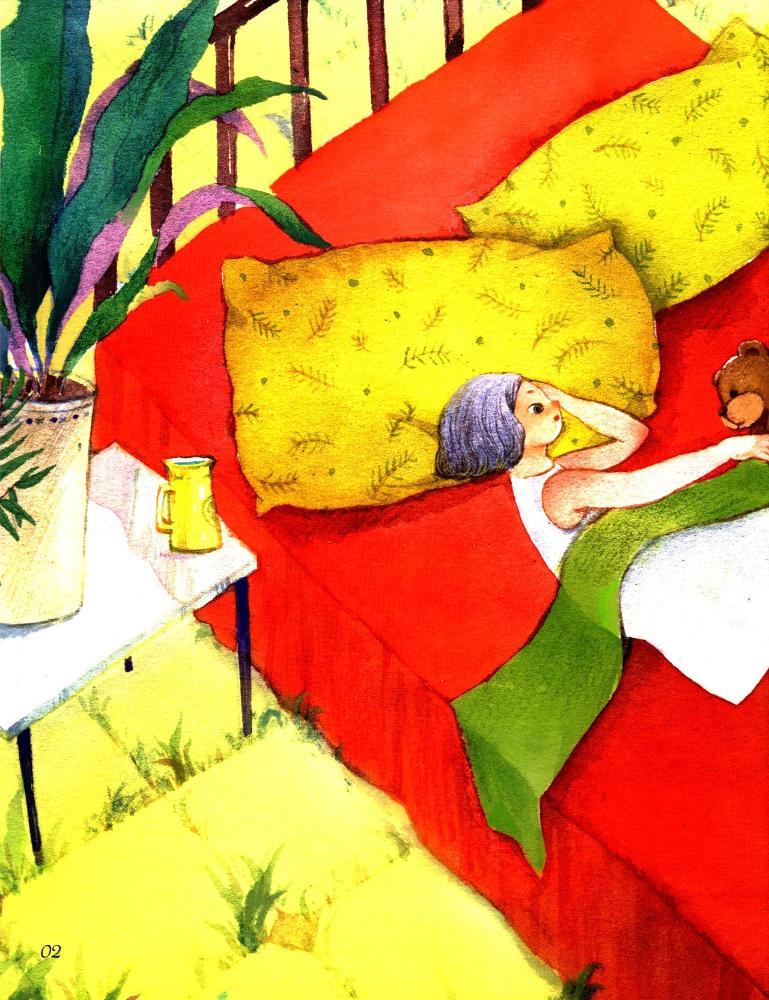 """""""樱桃树""""儿童心理成长系列图画书小满"""