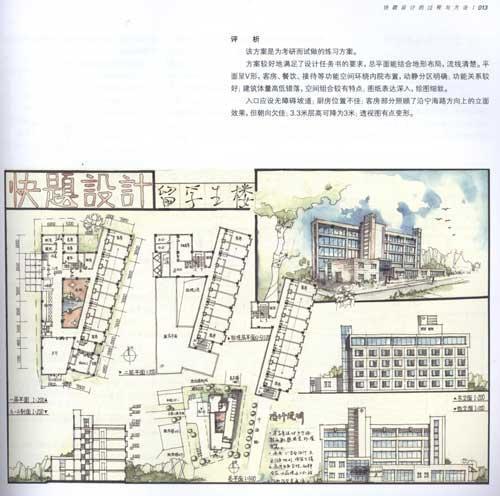 > 建筑学快题设计(2版)