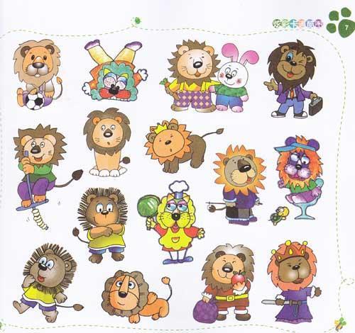 幼儿园绘画图片素材