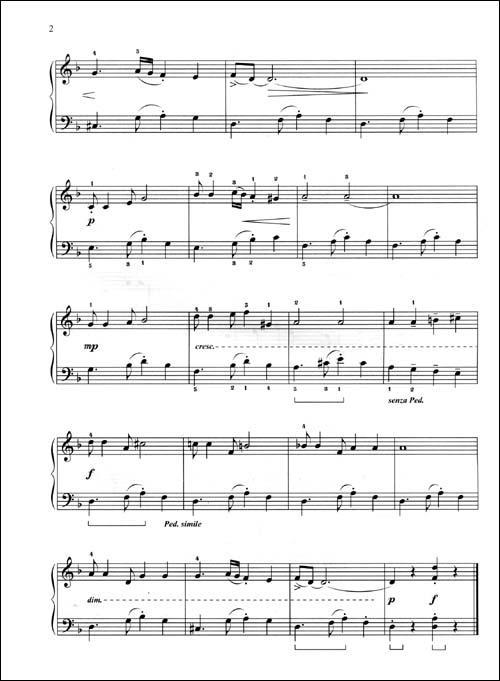 动物世界钢琴乐谱