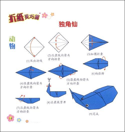 大班折纸小船步骤图