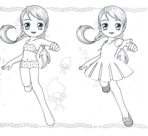 可爱美少女 百变时装秀 少儿 书籍