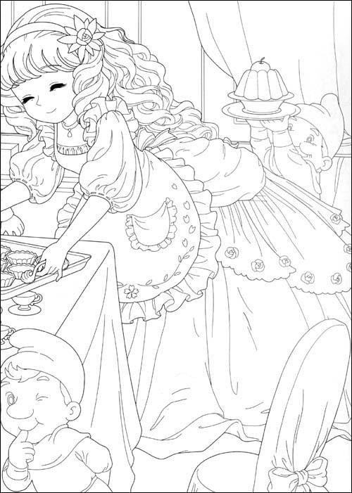 画_学画简单又漂亮的公主_漂亮的中国裙子怎么画_画白雪公主的方法