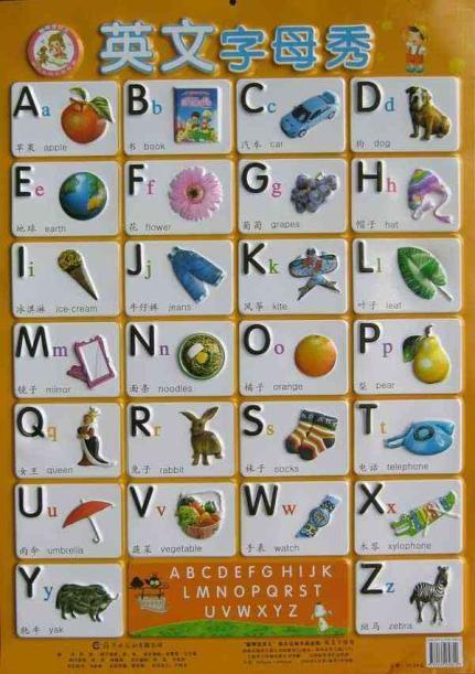 英文字母秀,卡片挂图,图书-文轩网-诺基亚中的游戏 奥比岛手机版