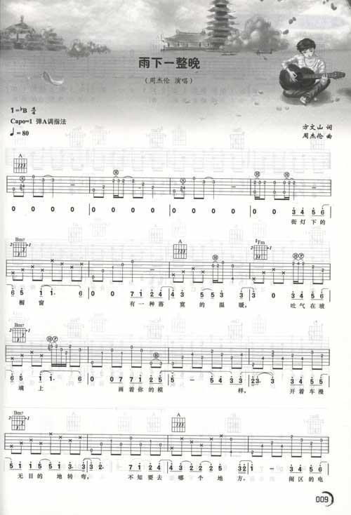 烟花易冷:吉他弹唱当红流行歌曲集