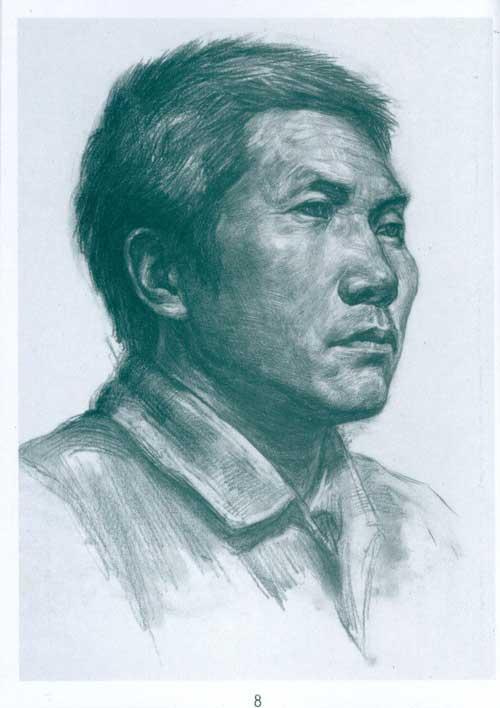 美术高考必备手册 真人头像-许泉松-考试-文轩网