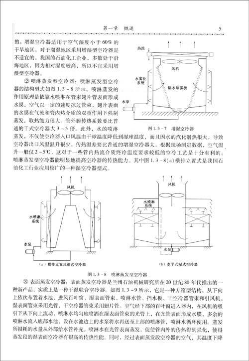 工艺和结构的设计方法,其中包括空气冷却器的总体设计要求,干式空冷器