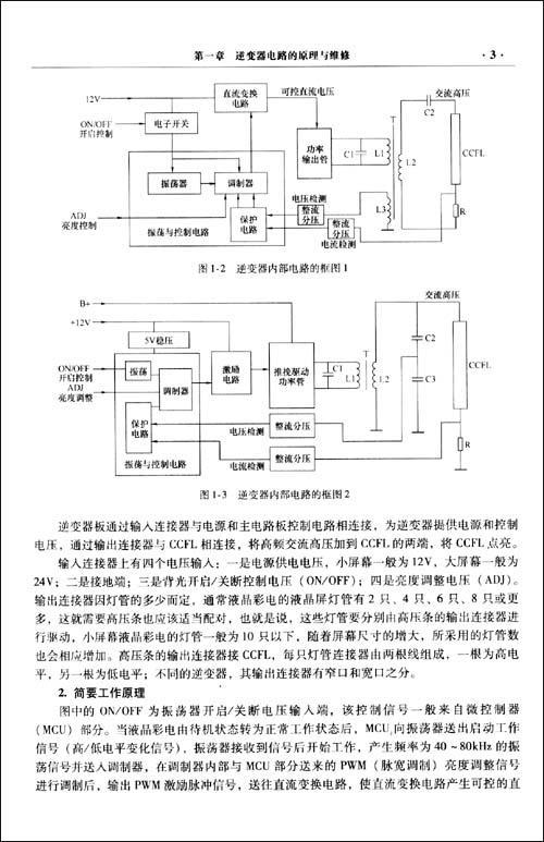 一,逆变器板工作原理 二,逆变器板故障维修 第四节长虹lt1957